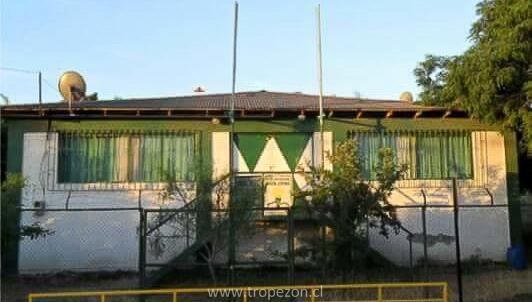 La sede que hoy no existe, y que sus muros guardaba la historia de innumerable eventos deportivos, sociales, culturales.