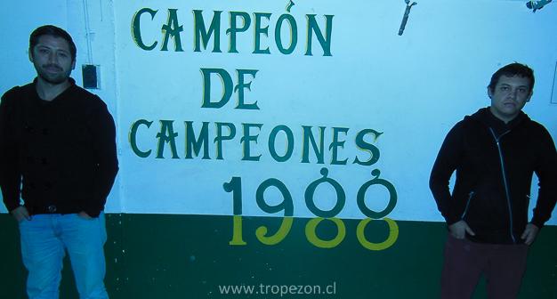 El campeón de campeones es uno de los clubes de futbol de Pudahuel con más trofeos ganado