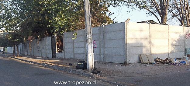 Cierre perimetral del recinto policial que el día de ayer se vio afectada por un incendio