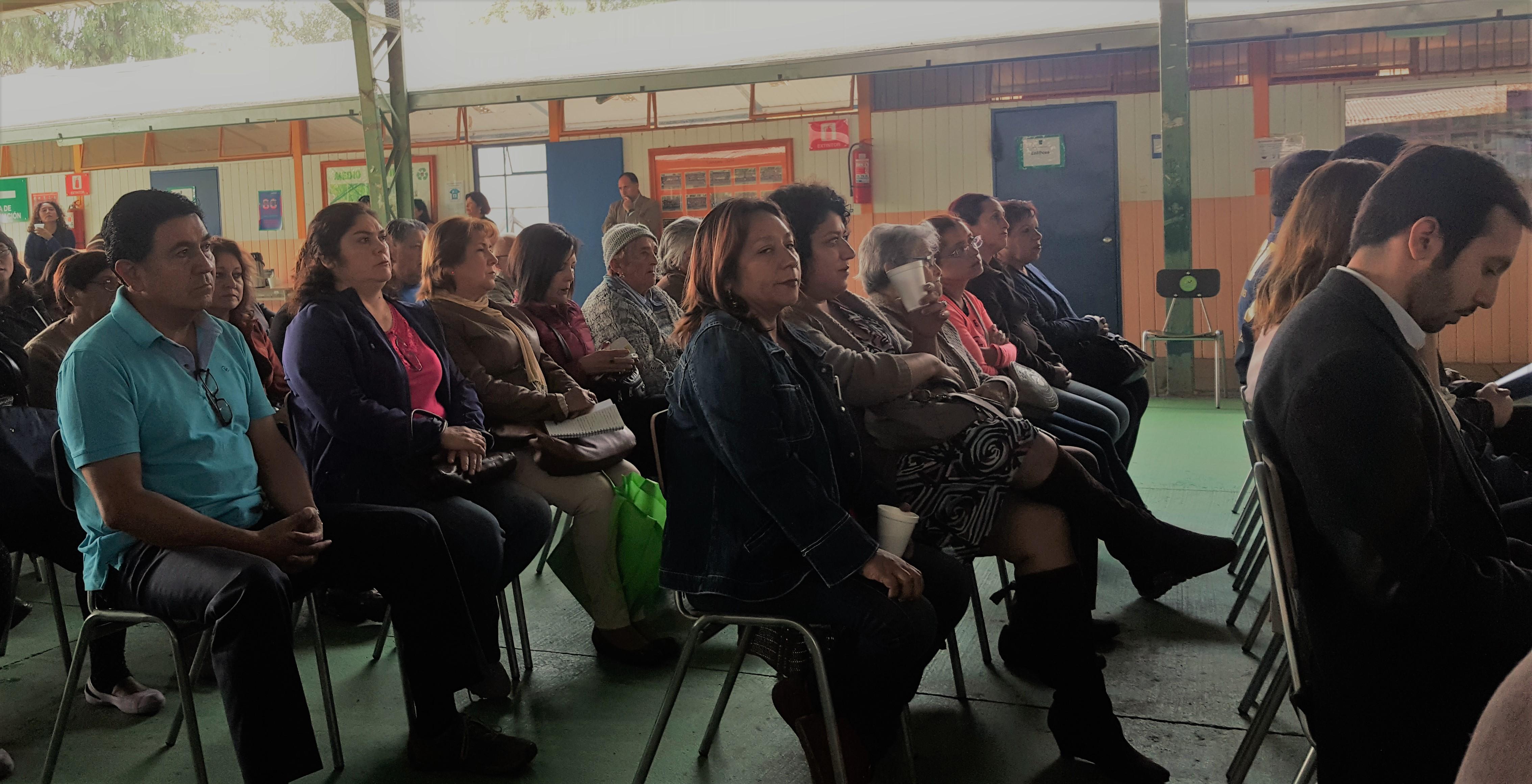 Seguridad vecinos de pudahuel rural disconformes tras for Subsecretario del interior