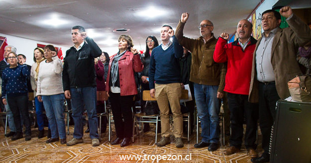 El partido Socialista comunal Pudahuel celebró el 84 aniversario de la institución