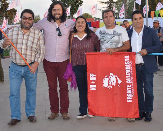 Una nueva opción política: El Frente Amplio fue presentado en Pudahuel