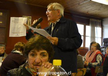 La Unión Comunal de Clubes de Adultos Mayores eligió nueva  directiva en Pudahuel