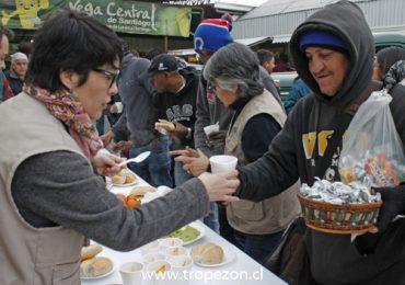 """Con desayuno en la Vega se lanzó mes de la solidaridad: """"La felicidad la recibes cuando te das"""""""