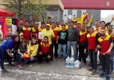 Sindicato DHL Express Chile lleva 4 días de huelga legal en Pudahuel