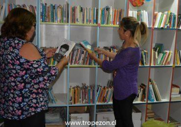 Biblioteca comunitaria de Pudahuel es todo un éxito