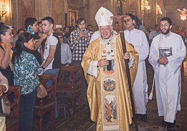 Celebración de Pascua de Resurrección en La Catedral