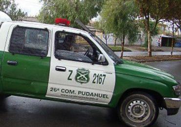 Joven madre es asaltada al momento que concurría a su trabajo en Pudahuel