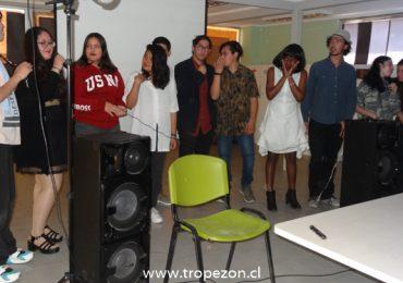 Adolescentes y jóvenes exhiben trabajos audiovisuales en Pudahuel