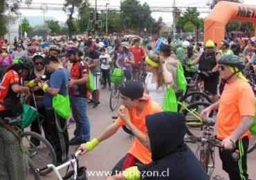 Cicletada sin exclusión fue realizada en Pudahuel