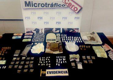 Tres detenidos por la PDI por tráfico de drogas en Pudahuel