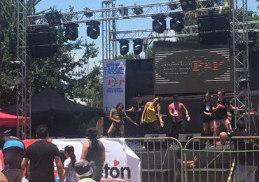 Cuatro heridos por desplome de escenario de apoyo a la Teletón en Pudahuel