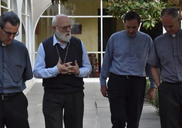 Sacerdotes se reunieron con nuevo administrador apostólico en Iglesia Sagrado Corazón de Jesús, el Bosque