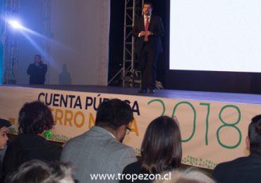 Con crítica a la administración anterior se realizó la Cuenta Pública en Cerro Navia