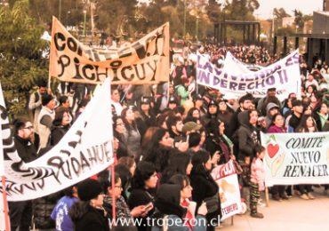 Más de un millar de personas participaron en caminata por el derecho y política de vivienda en Pudahuel