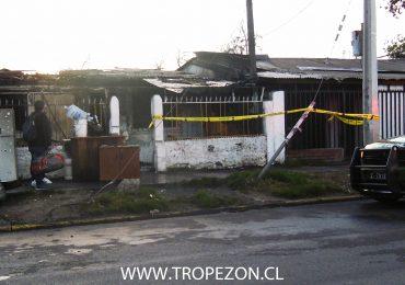 Incendio destruye casa en donde vivían personas de nacionalidad haitiana