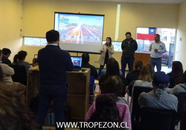 Organizaciones sociales de Pudahuel se oponen a proyecto del MOP en Américo Vespucio