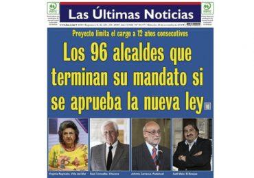 No iría más en Pudahuel: Johnny Carrasco no podría ser alcalde de aprobarse la Ley de Reelección