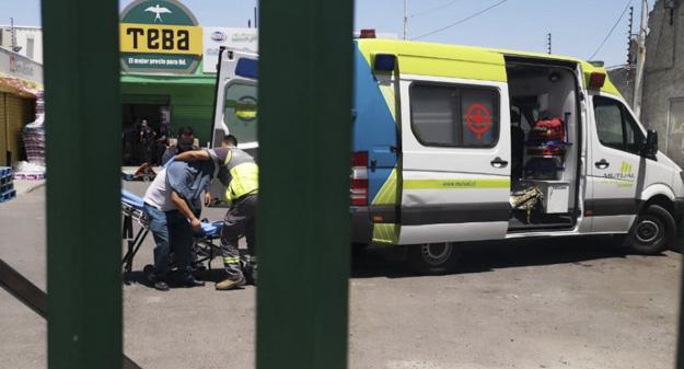 Guardia de seguridad resulta herido durante asalto a sucursal bancaria en Cerro Navia
