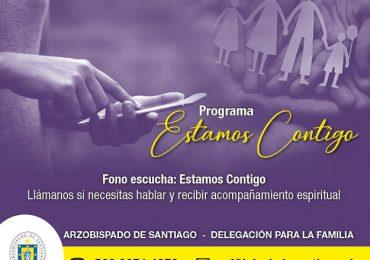Arzobispado de Santiago lanza servicio telefónico y de video - llamada gratuito de acompañamiento espiritual