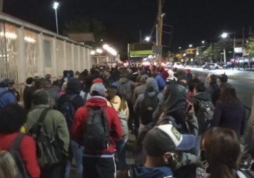 Gente molesta: Metro Pudahuel colapsa durante la mañana corriendo alto riesgo de contagio