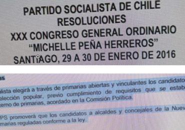 Partido Socialista habría decidido no realizar primaria en la comuna de Pudahuel