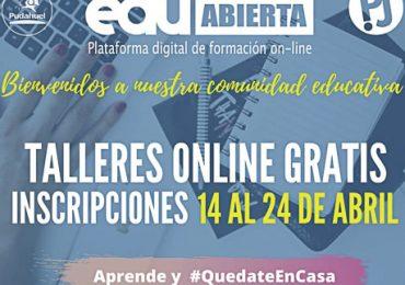 """""""Pudahuel Joven"""" anuncia realización de talleres online y gratuitos"""