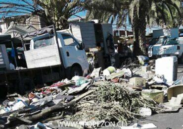 Vecinos de Pudahuel sur denuncian foco de infección por basural en su sector