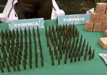Pudahuel: 300 proyectiles calibre 7.56  fueron hallados en vivienda allanada en  El Noviciado por personal policial