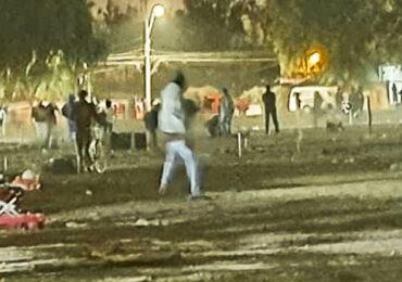 Militares apoyan desalojo en intento de toma ocurrido anoche en  Pudahuel
