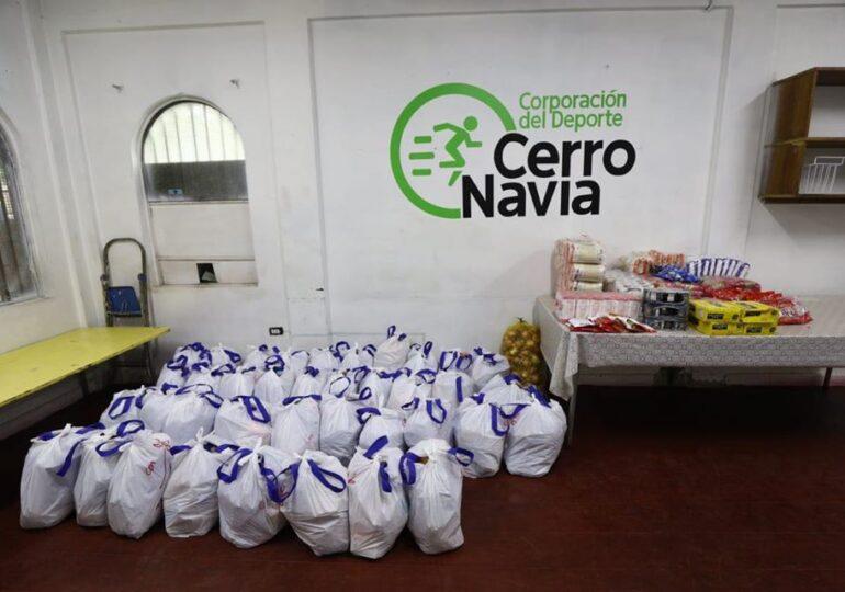 Municipalidad de Cerro Navia mantiene campaña de Banco de Alimentos