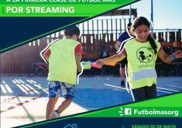 Atención: No te pierdas la primera clase de Fútbol Más en vivo