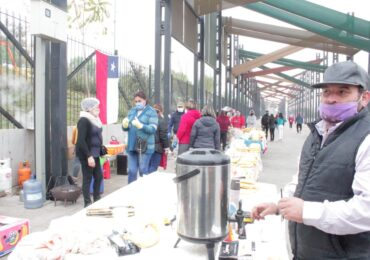 Solidaridad: Feriantes de Pudahuel realizan olla común en diferentes sectores de la comuna