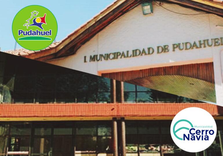 Cerro Navia y Pudahuel reciben millonario aporte del Gobierno para enfrentar la pandemia