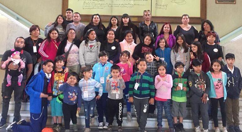 Rayen Mahuida de Cerro Navia realiza entretenido concurso de baile para niños y niñas