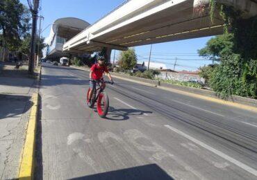 """Team Mapu Pudahuel trabaja en """"ciclovía de emergencia"""" para apoyar distanciamiento social"""