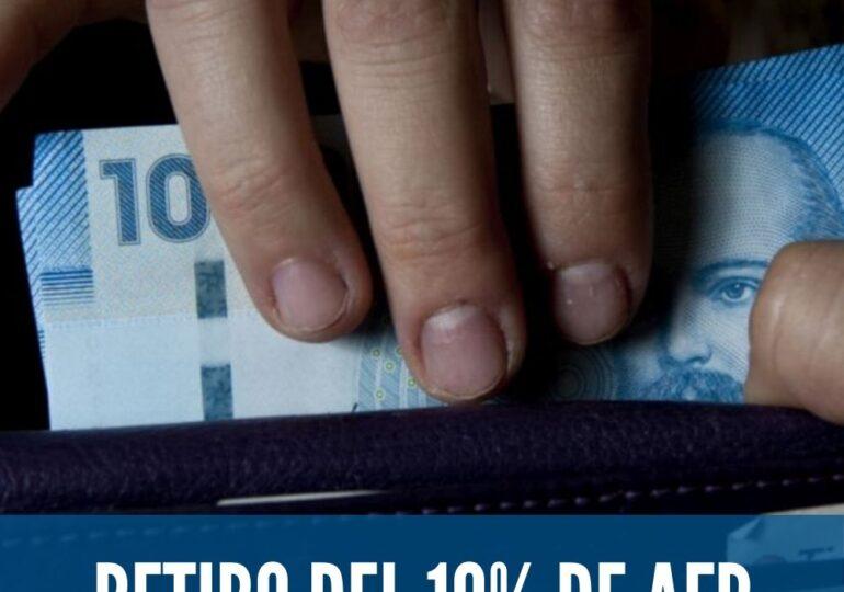 ¿AFP o bonos del Gobierno?: 97 por ciento de vecinos y vecinas prefiere retirar el 10%