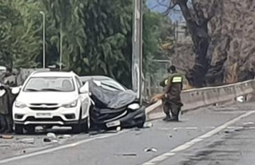 Pudahuel: Hombre muere en accidente de tránsito en la Ruta 68