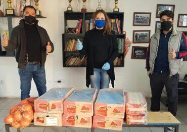 Generosa donación abasteció a ocho ollas comunes en Cerro Navia