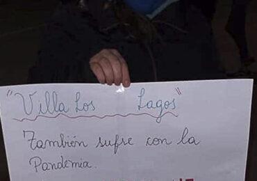 Villa El Comendador y Los Lagos reclaman que aún no reciben su caja de mercadería en Pudahuel
