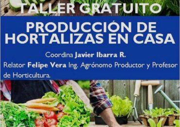 """Anótalo: Vecino de Pudahuel invita a taller """"Producción de hortalizas en casa"""" totalmente gratis"""