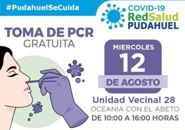 Mañana y el jueves: Red Salud Pudahuel realizará exámenes PCR sin costo