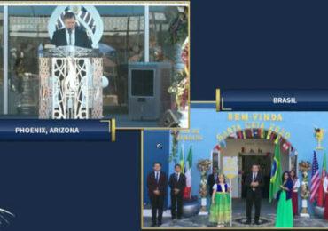Iglesia Luz del Mundo con sede en Pudahuel realiza ceremonia de bienvenida de gran evento internacional