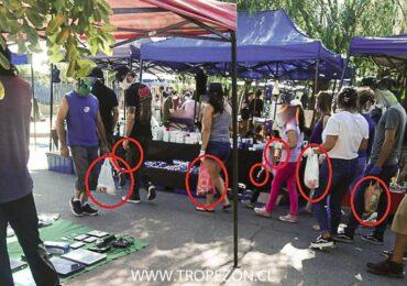 Desde hoy se prohíbe la entrega de bolsas plácticas en negocios, ferias y persas de Pudahuel y Cerro Navia