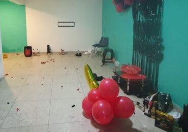 Fiesta clandestina en Cerro Navia termina con 18 detenidos y amenazas de muerte a vecinos