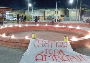 Cacerolazos en distintos puntos de Pudahuel para exigir justicia por muerte de Ámbar Cornejo