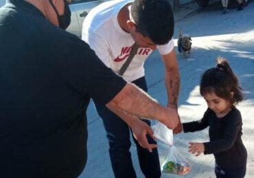 """Comité de seguridad ciudadana """"Nueva Unión"""" lleva regalos a 300 niños y niñas de Pudahuel"""