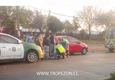 Menor resulta atropellado al cruzar paso de cebra deteriorado en Cerro Navia