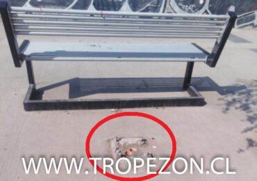 Postes metálicos del tendido eléctrico peatonal son robados en Pudahuel