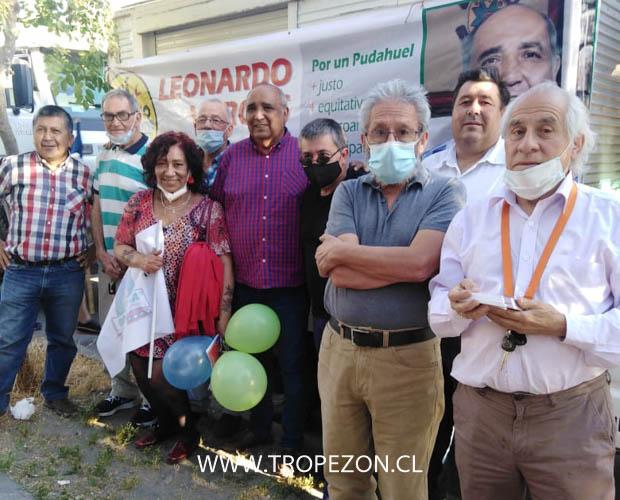 Leonardo Vargas: Candidato a primarias por el Partido Socialista realiza caravana informativa por calles de Pudahuel